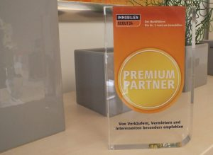 Immobilie verkaufen Osnabrück - Auszeichnung ImmobilienScout24